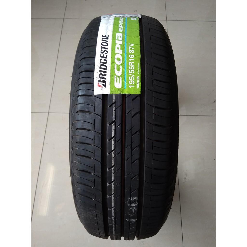 Bridgestone Ecopia Ep150 Ukuran 195 55 R16 Ban Mobil Aerio Baleno Avega Shopee Indonesia