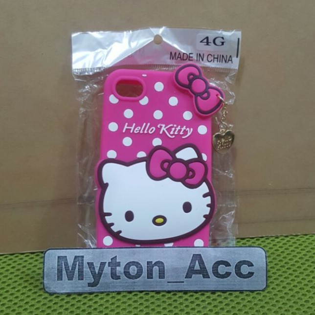 Case 4D 3D Hello Kitty Samsung Galaxy V New Baru Karakter Soft Lucu Cute Boneka Silikon Murah Meriah | Shopee Indonesia