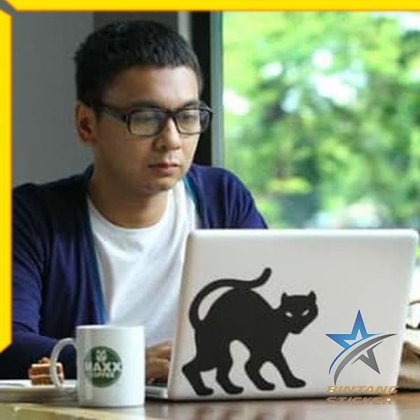 Termurah Sticker Kucing Raditya Dika Stiker Laptop Bintang Sticker Shopee Indonesia
