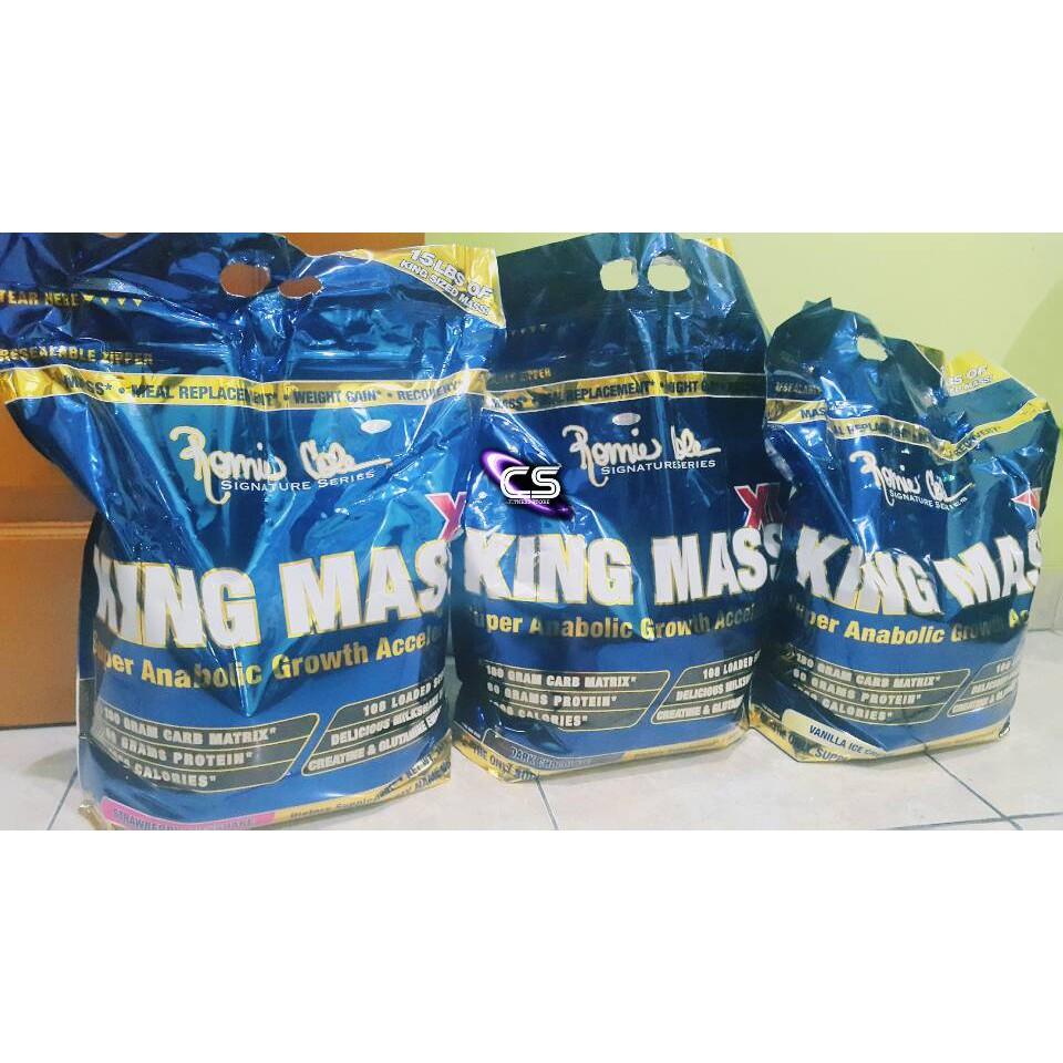 Rc Ronnie Coleman King Mass Xl 3 Kg Eceran Susu Penambah Berat Badan Ph Prohybrid Gainer 2 Lbs Ecer Bpom Halal Bb Shopee Indonesia