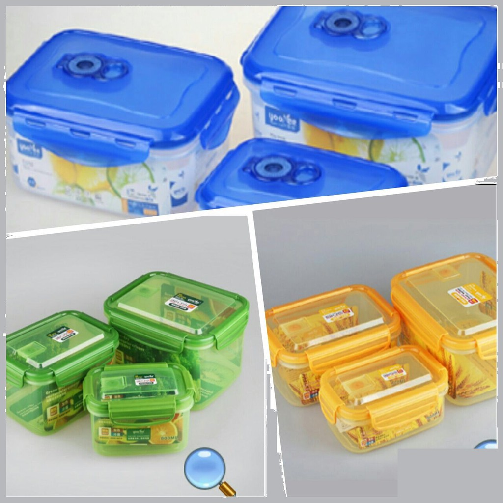 415 Lunch Box Kotak Makan Yooyee 4 Sekat Dengan Sup Shopee Indonesia Leakproof Lunchbox Mini 605 Anti Tumpah Biru Muda