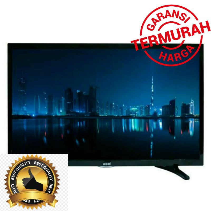 super sale TV LED AKARI 40 INCH LE40D88 GOJEK GOSEND Murah