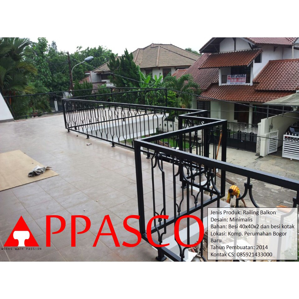 Railing Balkon Perumahan Bogor Shopee Indonesia
