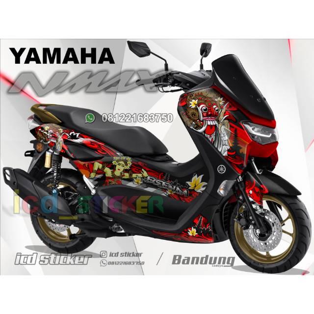 Sticker nmax new 2020 Barong Bali custom bahan 3M