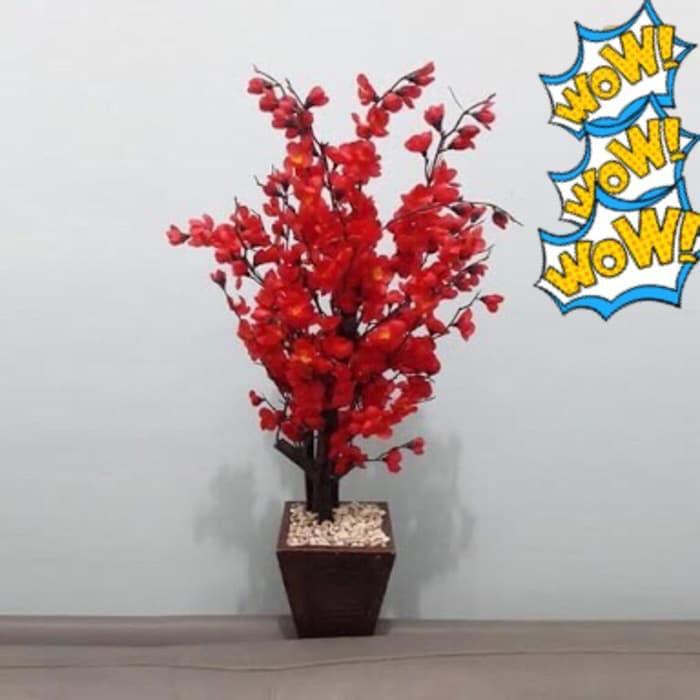 Buket Bunga Mawar Pohon Plastik Artificial Artifisial Sintetis Pot Vas Rotan Hiasan Sepeda . Source · GROSIR & ECER~ pohon imlek mehwa sincia xincia angpao ...