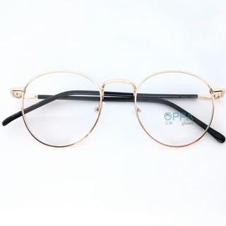 Paling Dicari Frame Kacamata Korea Pria Wanita Oppa Op02 Gd Gold Bulat  Fashion Murah d6680233c8