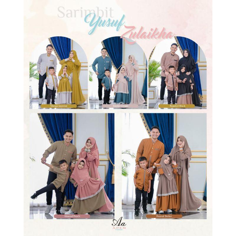 Yusuf dan Zulaikha Family Set by Aden Hijab (Sarimbit Aden Hijab)