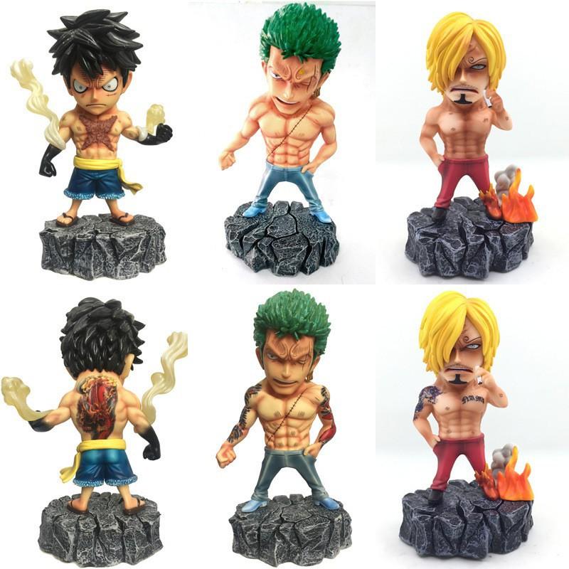 Action Figure One Piece Underworld Roronoa Zoro Sanji Shopee Indonesia