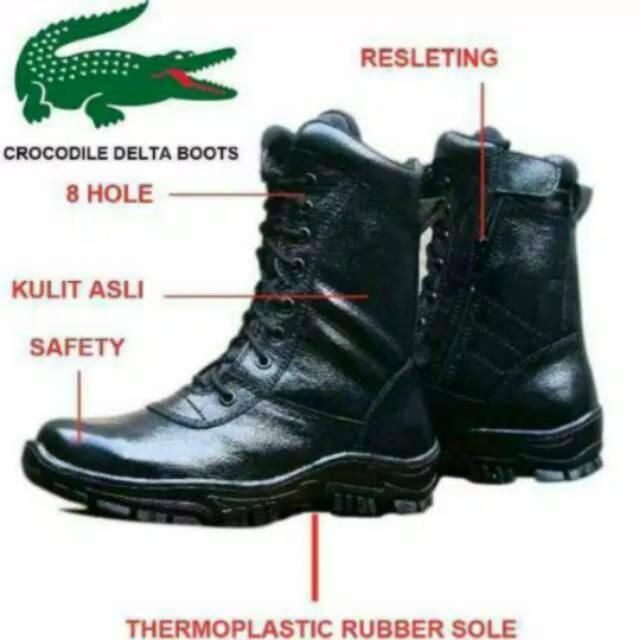 Sepatu Boot Pria MURAH  Boots Kulit Asli  CUCI GUDANG Boot Model Fordza  BKS01TP  1d9a55a0ce