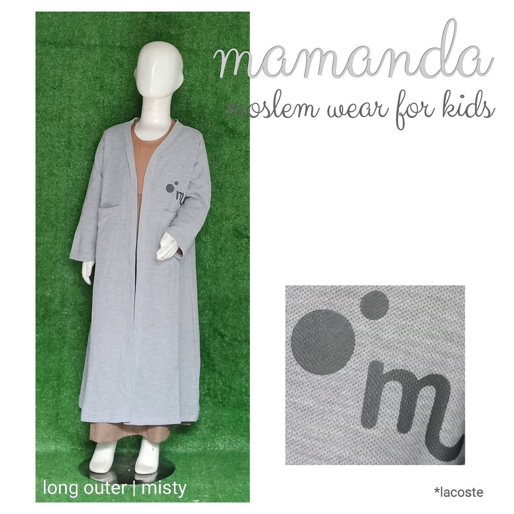 Long Outer Anak Misty by Mamanda