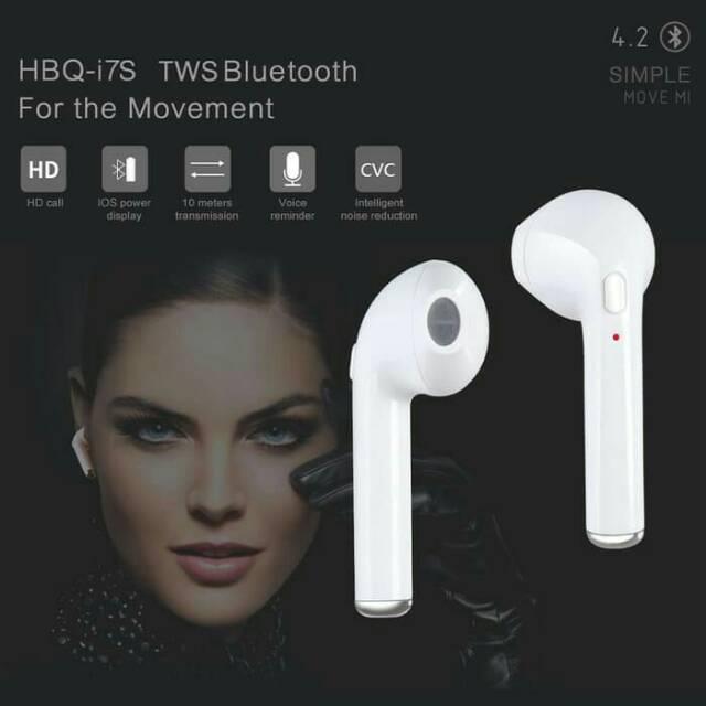 Handsfree Earphone Bluetooth Twins I7s Tws With Charging Docking Shopee Indonesia