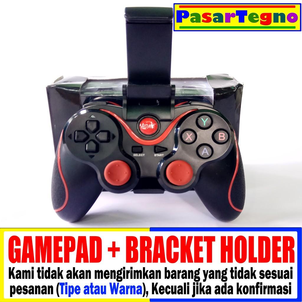 Gen GAME S5 Gamepad Wireless dengan Bracket dan Receiver iOS Android PC | Shopee Indonesia