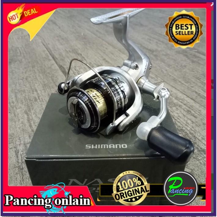 3b8875909d6 Reel Pancing Shimano Nasci 2500 4+1 bb | Shopee Indonesia