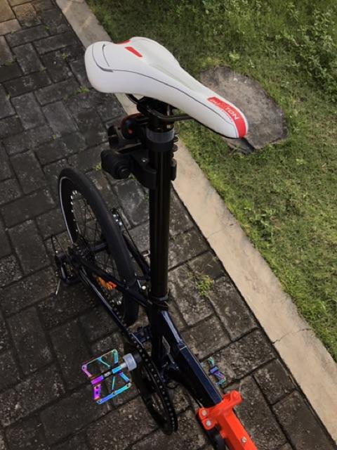Sepeda Lipat Seli Element Foldx 8 Full Modifikasi Ala Sultan Shopee Indonesia