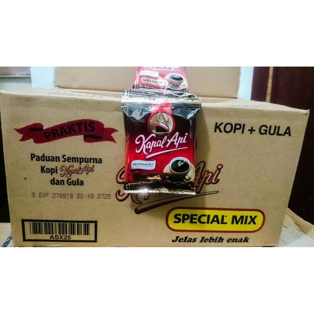 Cuci Gudang Kapal Api Special Mix Shopee Indonesia Kopi Spesial