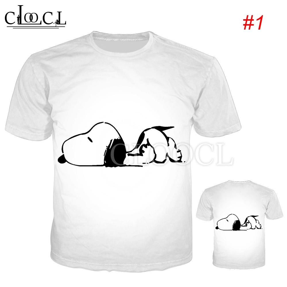 Kaos T Shirt Dengan Gambar Kartun Anjing 3d Lucu Untuk Anjing