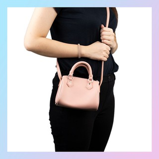 MINISO Tas Selempang Wanita Mini silinder Sling Bag Kecil ...