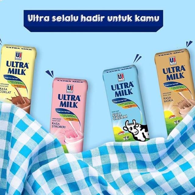 Ultra Milk 200ml Surabaya Shopee Indonesia