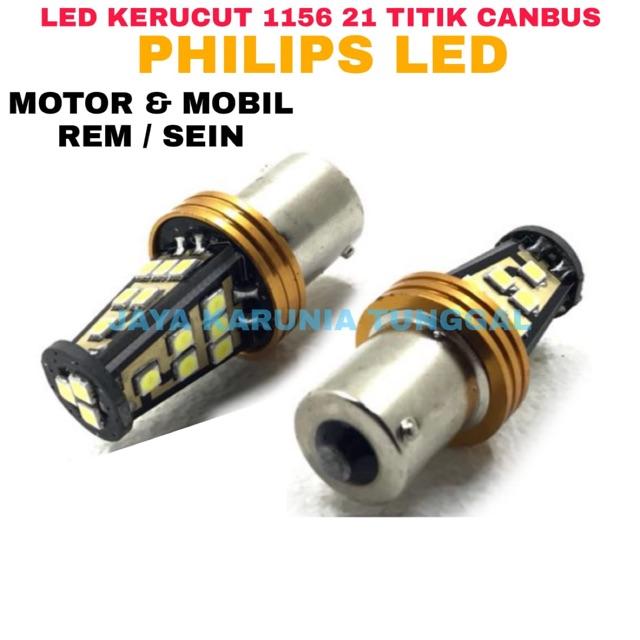 [Bayar Di Tempat]4pcs Lampu Sinyal Stop Belakang Mobil Led Putih 1156 BA15S 382 P21W 50SMD 12V | Shopee Indonesia