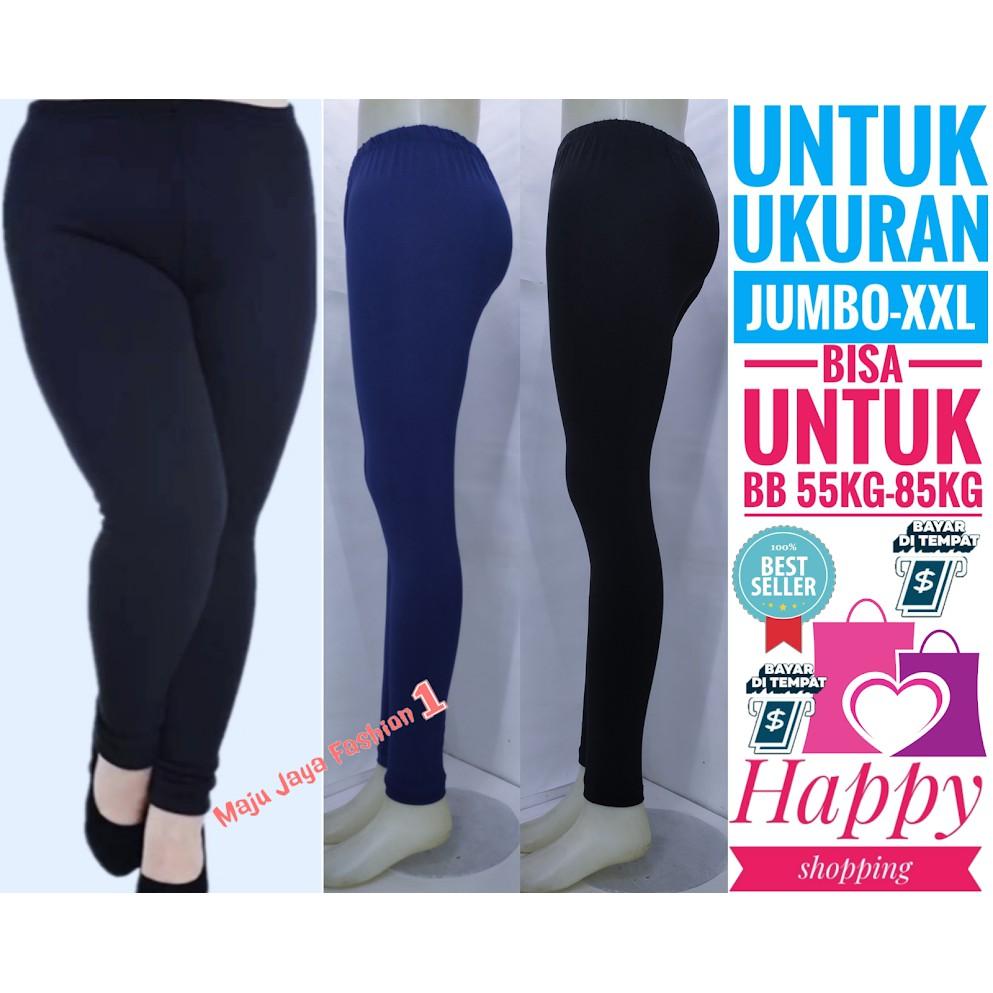 Celana Legging Panjang Ukuran Jumbo Xxl Celana Legging Panjang Bahan Licin Promo Hari Ini Shopee Indonesia