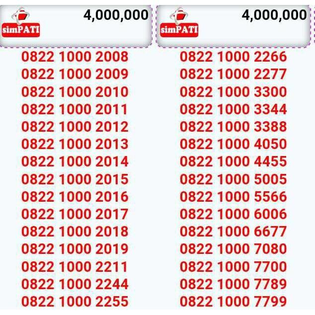 nomor cantik telkomsel seri - Temukan Harga dan Penawaran Kartu Perdana Online Terbaik - Handphone & Aksesoris Januari 2019 | Shopee Indonesia