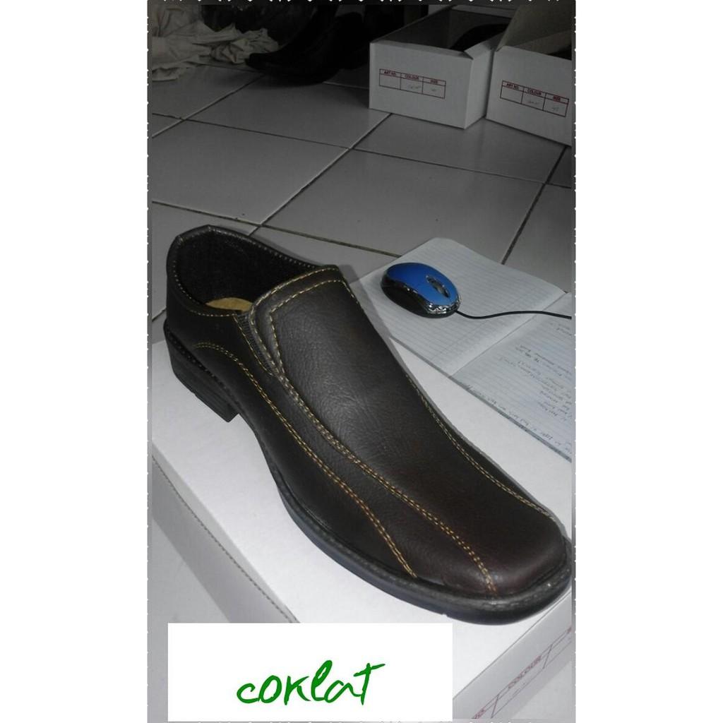 Sepatu Pantofel Karet Pria Att Saf 1146 Murah Shopee Indonesia Kerja Dan Kuliah Sankyo 1120