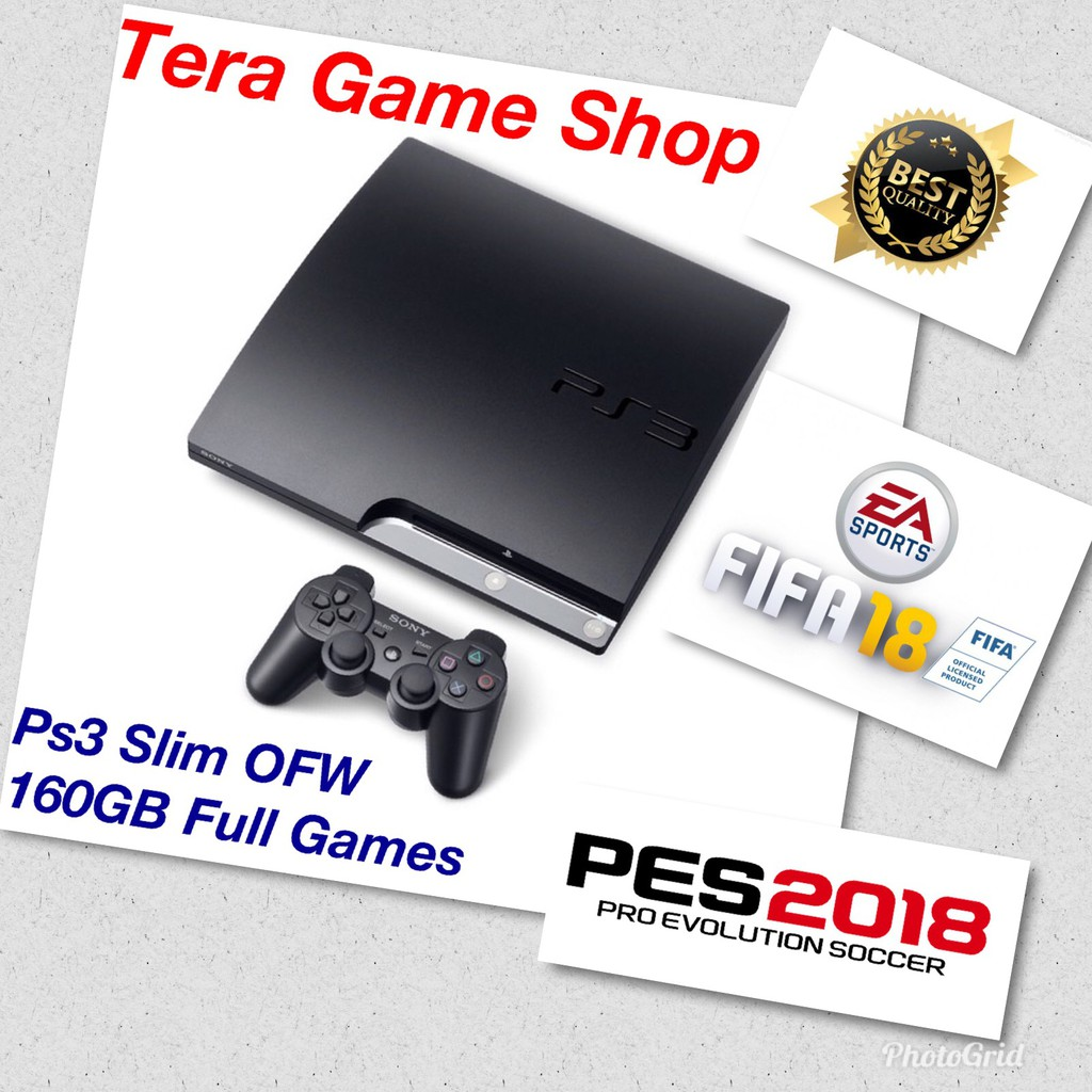 Playstation 3 Fat Murah Ps3 Ps Cfw Terbaru Hdd Internal Stik Op Stick Ori Pabrik 2nd Werles 500gb Wireless Shopee Indonesia