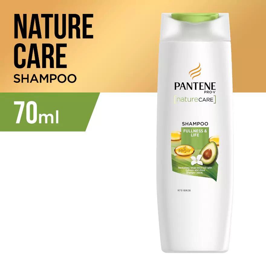 PANTENE Nature Care Fullness & Life Shampoo 70ml-2