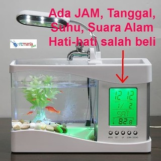 Aquarium Mini Acrylic Akuarium Ikan Cupang Akrilik Mi 08 Shopee Indonesia