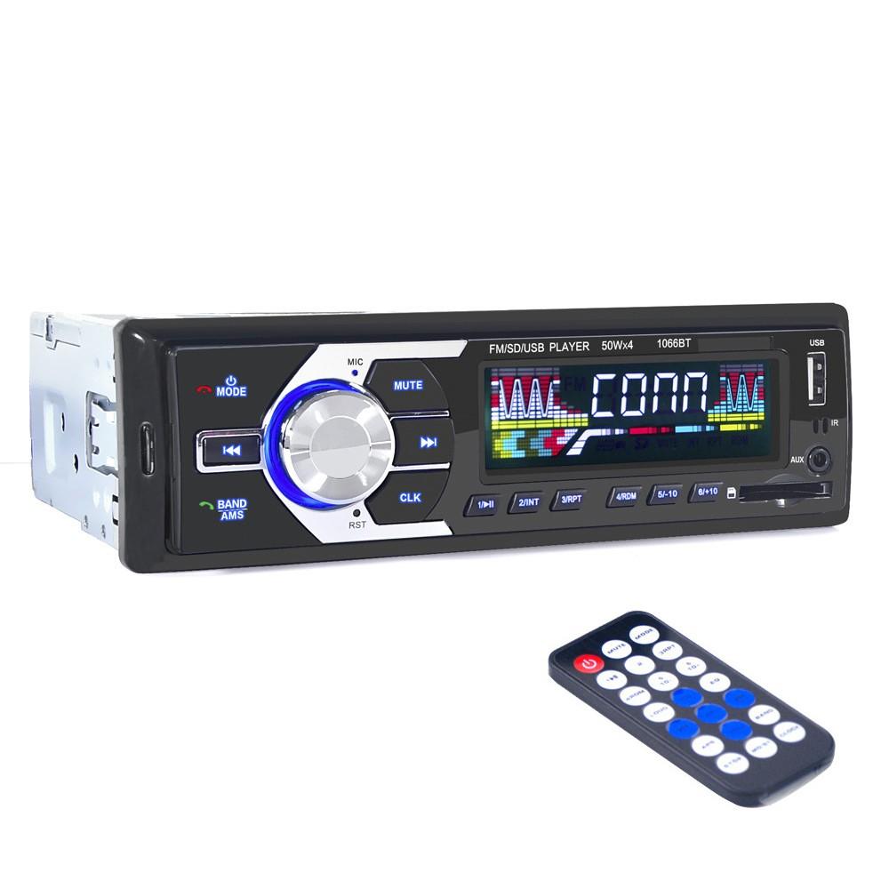 HD Adapter Charger Bluetooth Dengan Radio FM MP3 Player Port