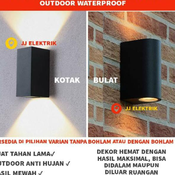 Cek Disini Lampu Dinding Taman Pilar Minimalis Outdoor Waterproof Shopee Indonesia