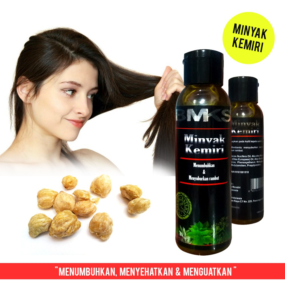 Minyak Kemiri Bmks Natural Bpom Original Black Magic Kemiri Natural Candlenut Oil Bpom Ori Shopee Indonesia