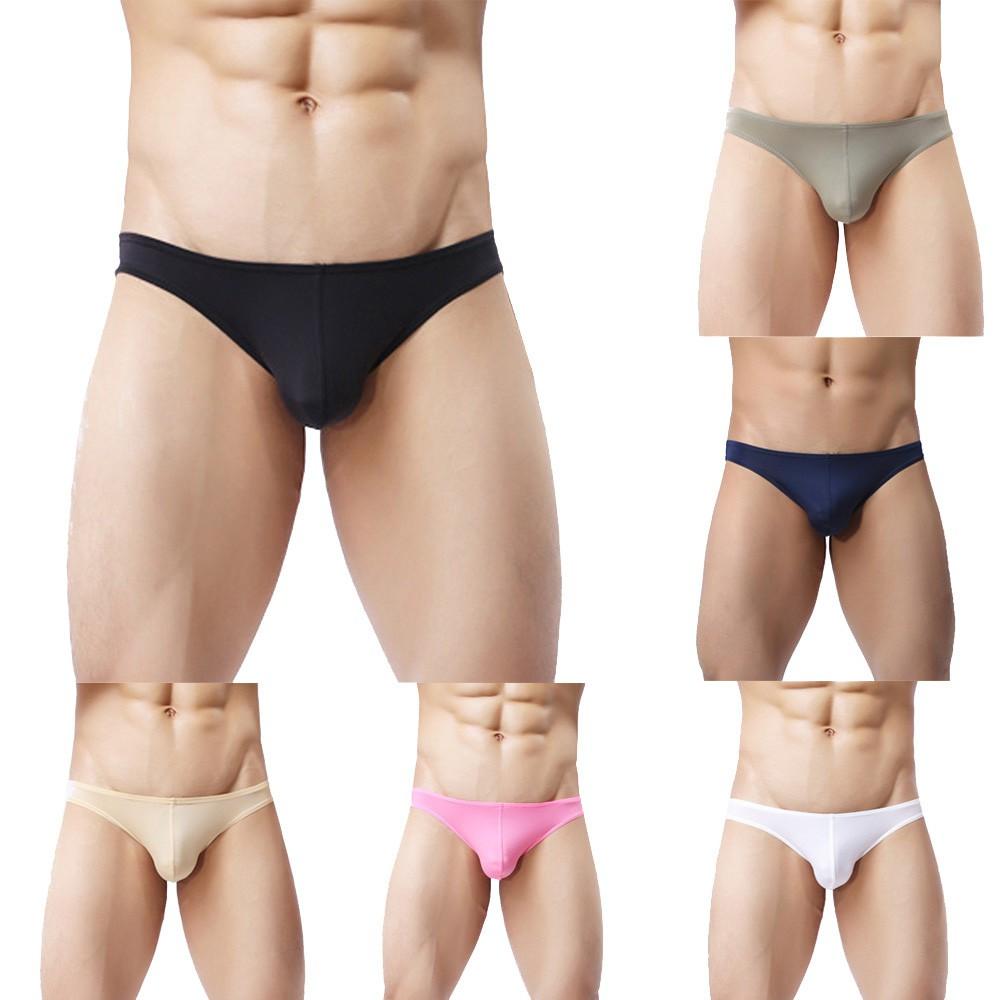 Herren Camouflage Bulge G String Unterwäsche Bikini Smooth T back Brief S Gift