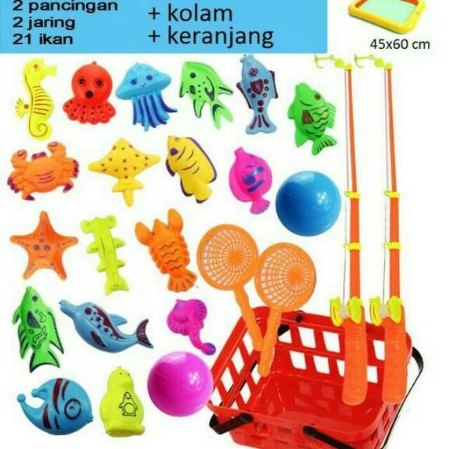 HOT PROMO NATAL   TAHUN BARU  Mainan Pancingan Bebek dan Ikan ... 40da5a9782