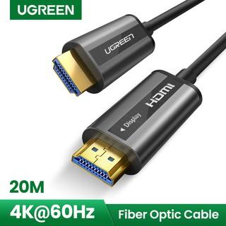 Ugreen Kabel Hdmi 4k 60hz Fiber Optic High Speed Premium Shopee Indonesia