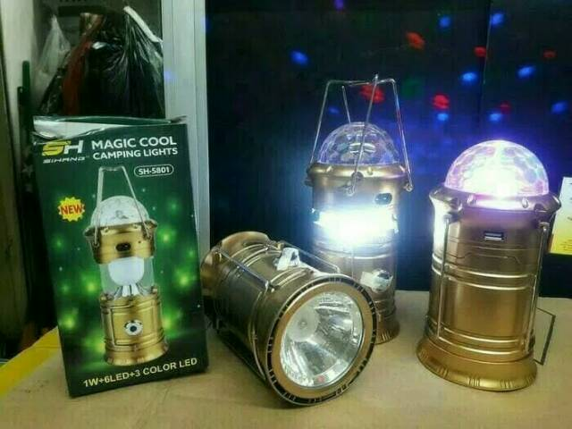 Lampu Camping Light 5801 Magic Cool Shopee Indonesia