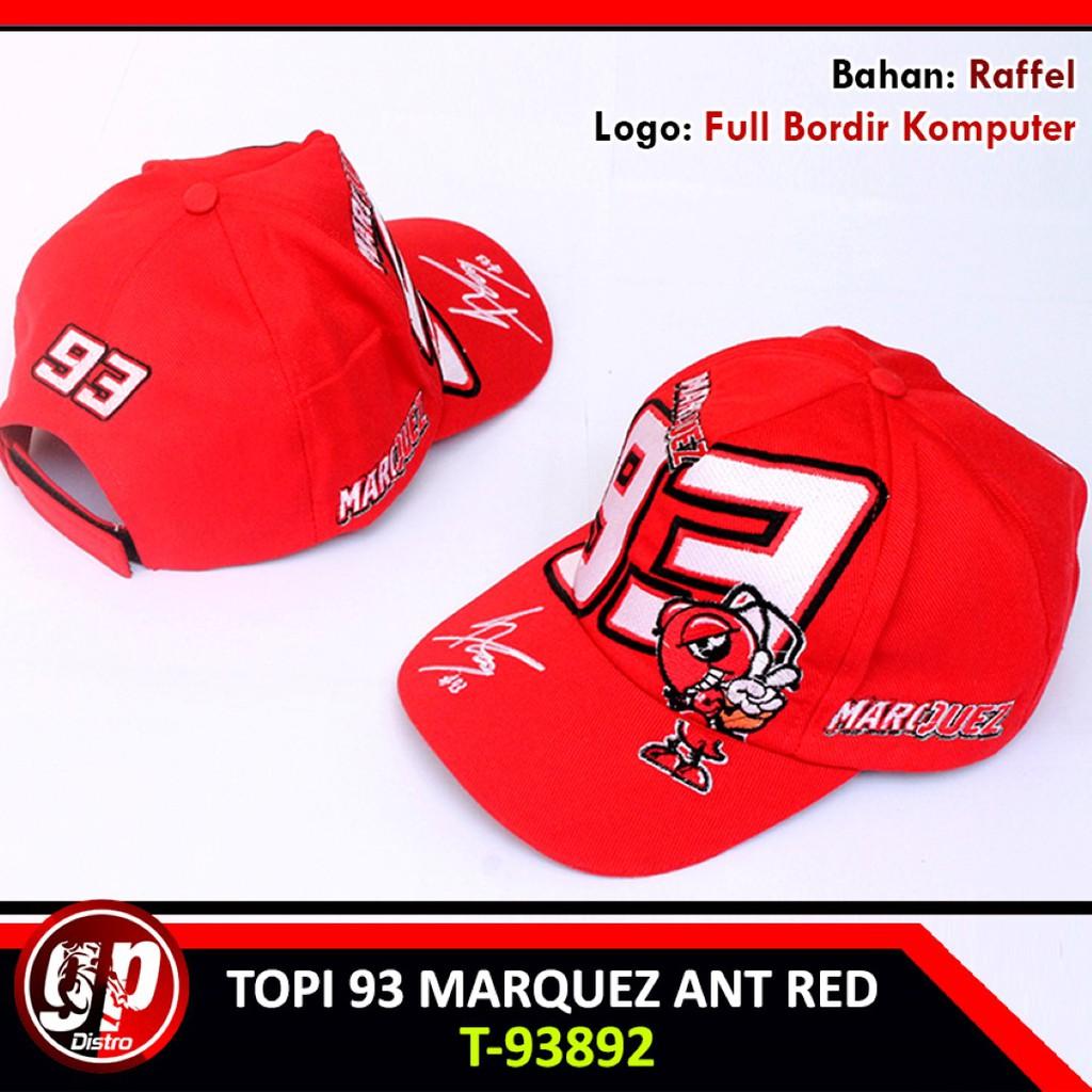 Topi Distro MotoGP Honda Repsol Marc Marquez MM93 Red Bull TP9303 ... ef3ad7667c