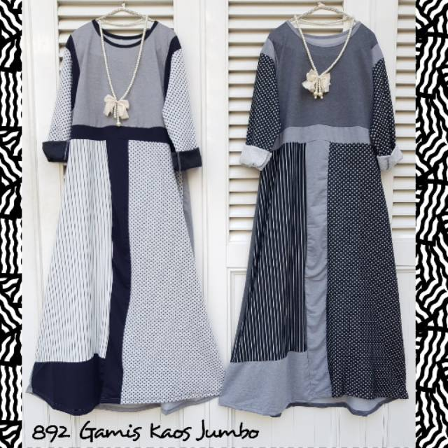 Kaos Gamis Jumbo Import Shopee Indonesia