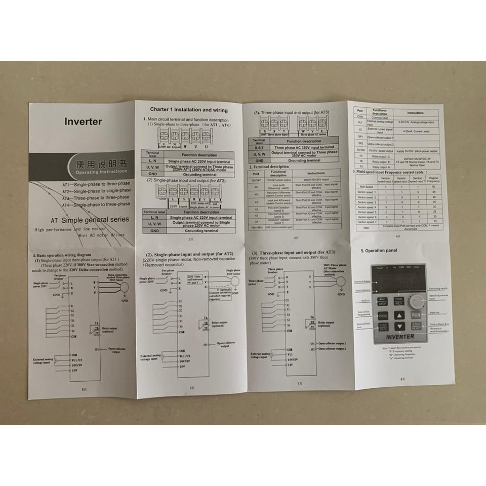 Inverter Variable Motor 1 5kw 2 Hp Input 1 Phase Output 3 Phase Ac Shopee Indonesia