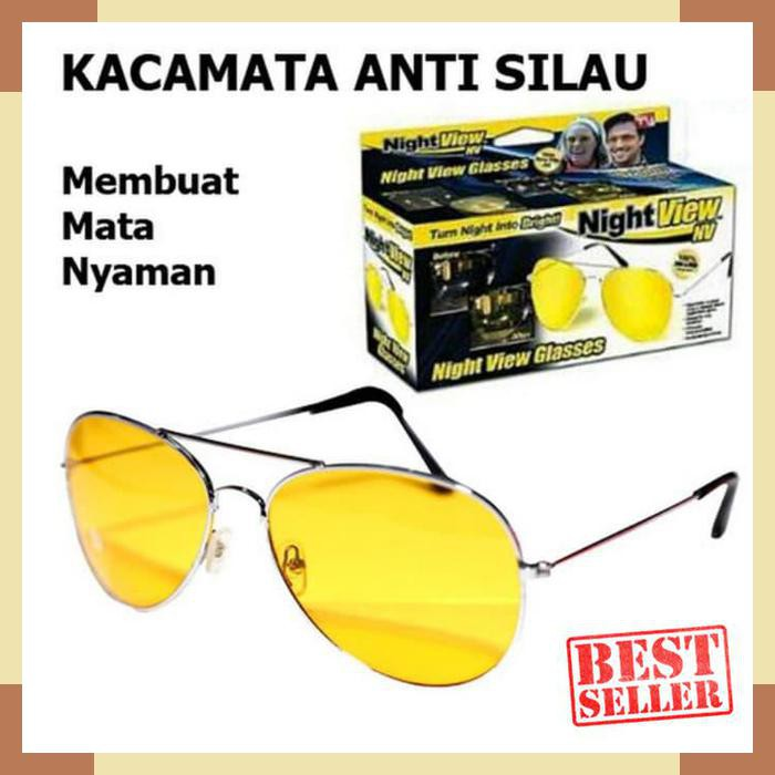 Kacamata Malam Anti Silau Night View Sunglasses  732da26803