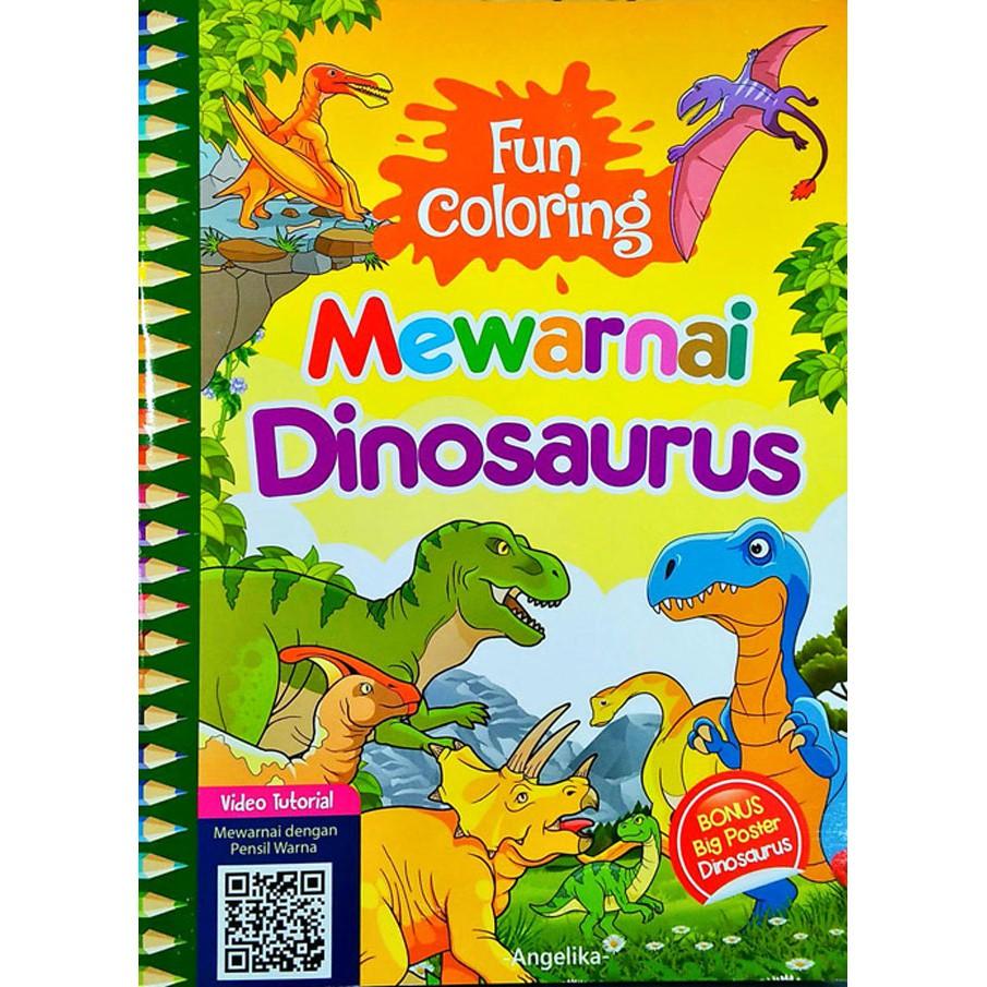 Terbaru 14+ Contoh Mewarnai Gambar Dinosaurus - Sugriwa Gambar