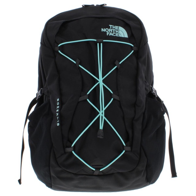 Tas Original The North Face Borealis Backpack Black Mint Blue Os Shopee Indonesia
