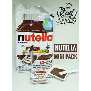 Nutella Mini Pack ukuran 15gramX12- NEW- Mini Nutella
