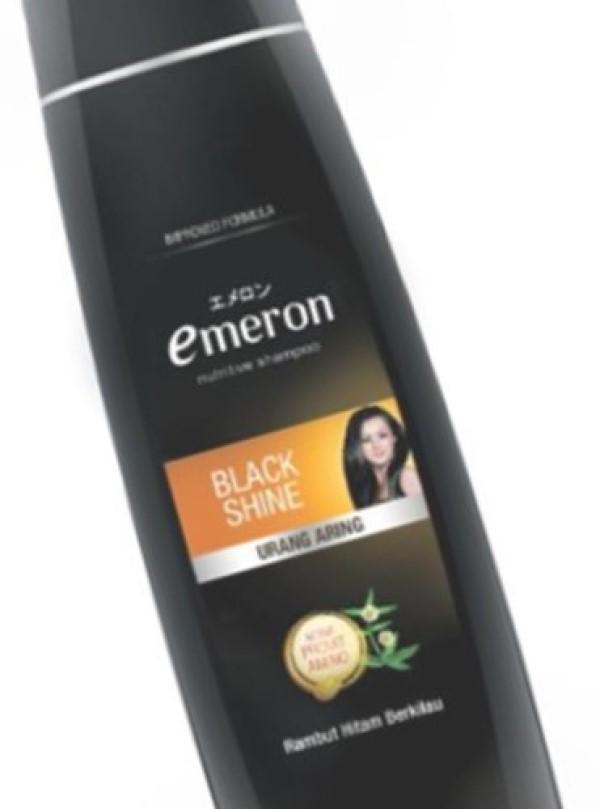 Emeron Shampoo Black Shine Botol 340ml-3