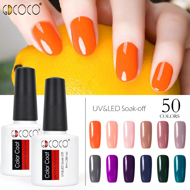 8.5ml Nail Gel Polish UV&LED Shining Colorful Nail Art For Women TONG XIXI | Shopee