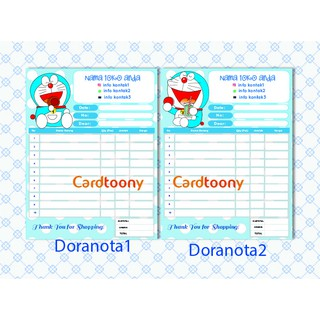 Nota Kwitansi Invoice Full Doraemon 1 Ply
