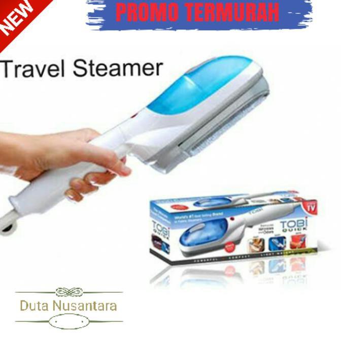 Barang Bagus Setrika Uap Tobi Steam Wand Laundry Iron Travel Steamer As  Seen On Tv Terbaik