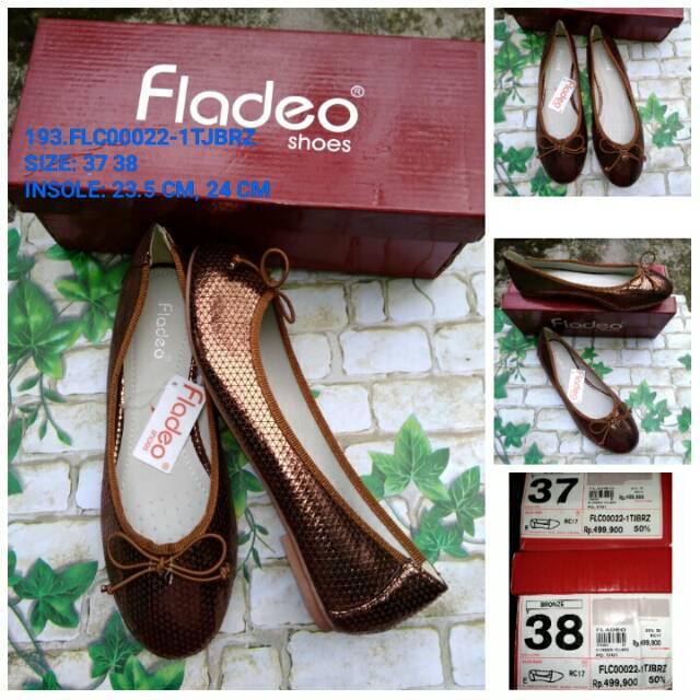Original Sepatu Wanita Flat Fladeo Murah Flat Shoes Fladeo