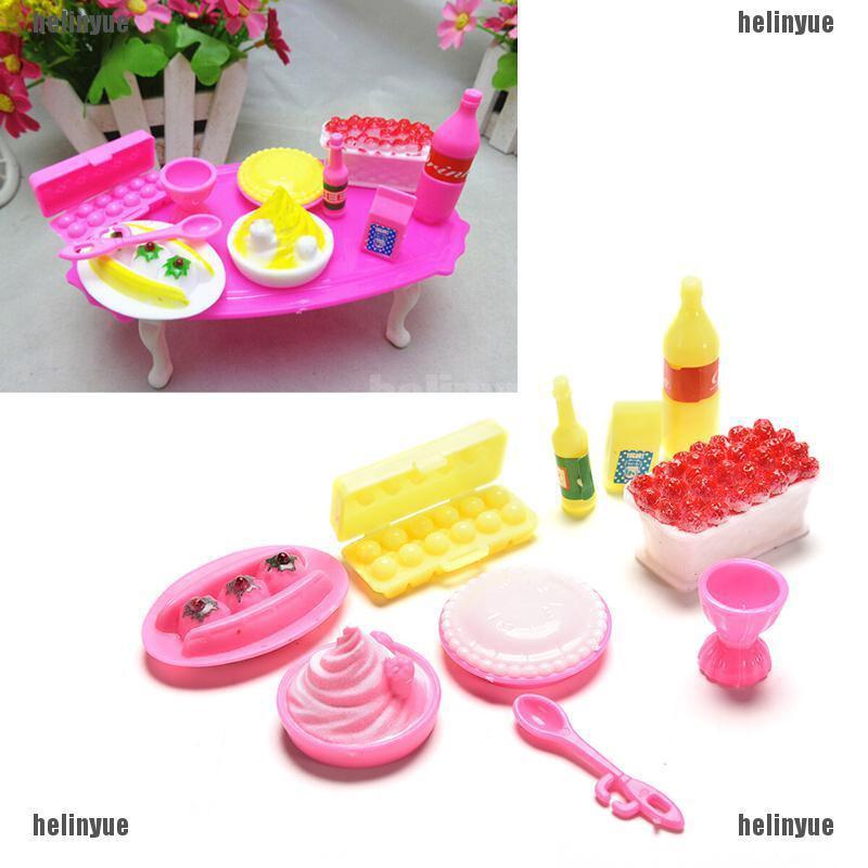 Bayar Di Tempat Hel Kue Ulang Tahun Mini Untuk Furnitur Rumah Boneka Barbie Shopee Indonesia