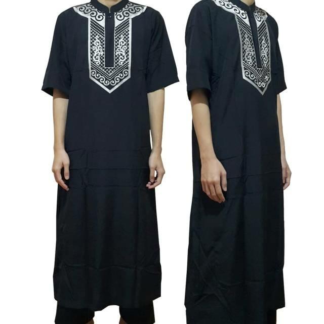 Promo Jsr 035 Busana Muslim Pria Baju Gamis Pria Baju Muslim Pria Java Seven | Shopee Indonesia